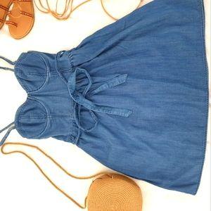 Abercrombie & Fitch  Short blue jean mini Dress